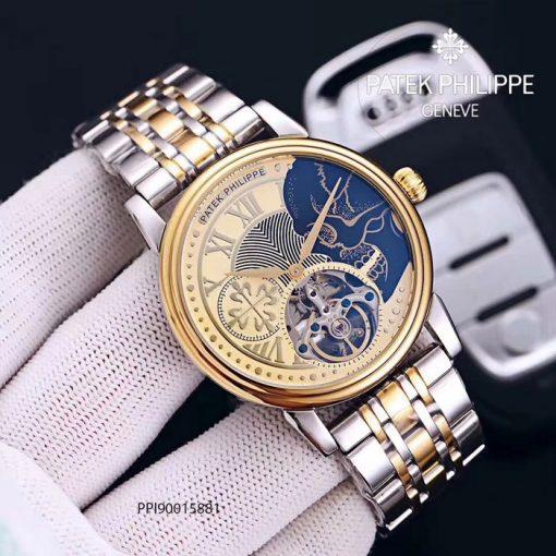 Đồng hồ nam Patek Philippe máy cơ siêu cấp giá rẻ