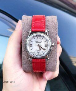 Đồng hồ Chopard nữ Happy Sport replica 1:1 dây da
