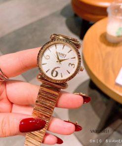 Đồng hồ versace dây kim loại nữ giá rẻ