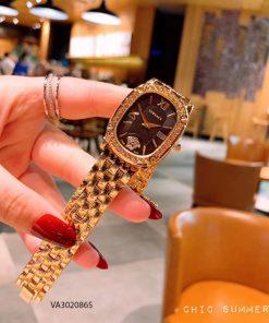 đồng hồ versace nữ dây kim loại cao cấp giá rẻ