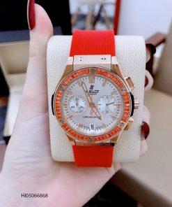 Đồng hồ Hublot Big Bang dây cao su đỏ cao cấp giá rẻ