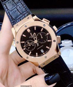 đồng hồ nam hublot big bang chonograp viền vàng cao cấp giá rẻ