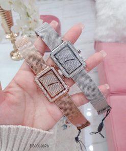 Đồng hồ nữ Chanel Boy Friend dây lưới cao cấp