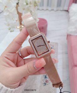 Đồng hồ nữ Chanel Boy Friend dây lưới vàng cao cấp