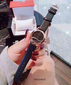 Đồng hồ Tissot 1853 nữ hoạt tiết dây da cao cấp