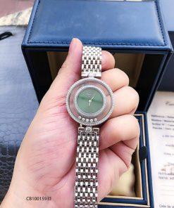Đồng hồ nữ Chopard dòng Happy Diamond demi đỏ replica 1:1