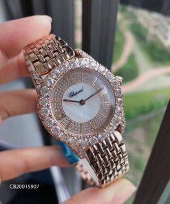 Đồng hồ nữ Chopard L'Heure Du Diamant máy Thụy Sĩ replica 1:1 fullbox
