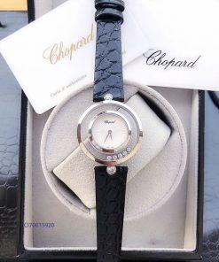 Đồng hồ nữ Chopard dòng Happy Diamond đá xoay replica 1:1 giá rẻ