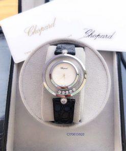 Đồng hồ nữ Chopard dòng Happy Diamond đá xoay replica 1:1 fullbox