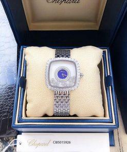 Đồng hồ nữ Chopard dòng Happy Diamond mặt vuông replica 1:1 giá rẻ