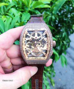 Đồng hồ nam Franck muller Vanguard V45 SC DT cơ Thụy Sĩ Fullbox