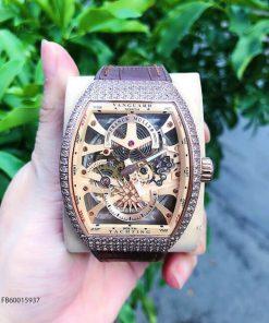 Đồng hồ nam Franck muller Vanguard V45 SC DT cơ Thụy Sĩ Fullbox giá rẻ