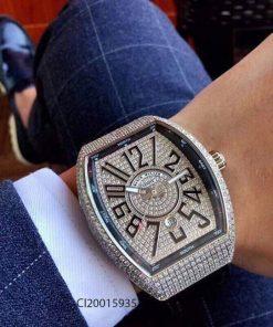 Đồng hồ nam Franck Muller Vanguard V45 SC DT máy cơ thụy sĩ giá rẻ