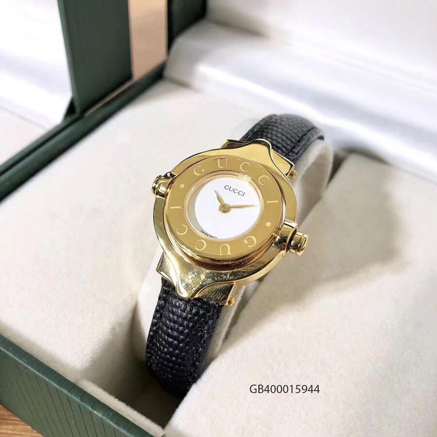 Đồng hồ nữ Gucci Vintage dạng lắc mặt xoay cao cấp giá rẻ fullbox