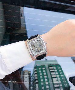 Đồng hồ nam Patek Philippe máy cơ thụy sĩ da cá sấucao cấp