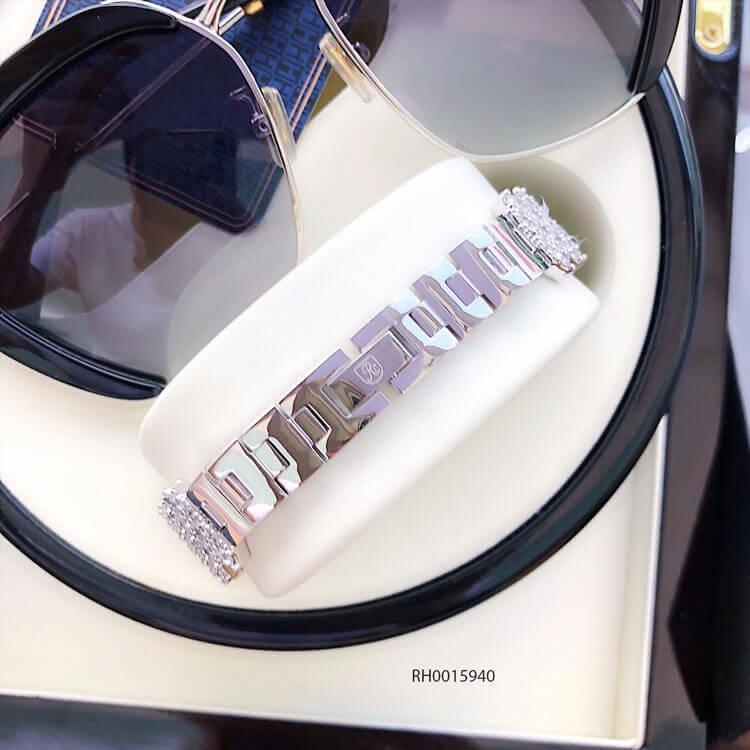 khóa đồng hồ nữ Royal Crown mã 6316 dây đá