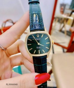 Đồng hồ Rolex CLASSIC LEATHER LADY máy Thụy sỹ cao cấp