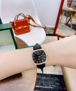 độ dày đồng hồ Rolex CLASSIC LEATHER LADY máy Thụy sỹ cao cấp giá rẻ