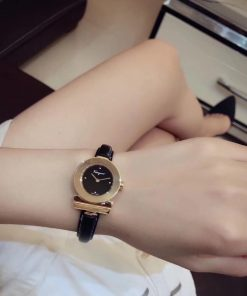 đồng hồ nữ Salvatore Ferragamo Gancino Bracelet dây da bò máy thụy sĩ cao cấp