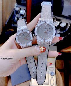 Đồng hồ Hublot cặp nam nữ Geneve máy nhật cao cấp