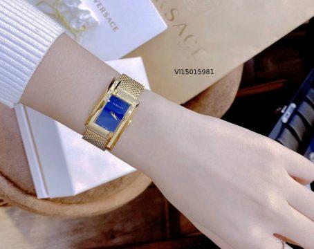 Đồng hồ Versace nữ mặt vuông dây kim loại cao cấp