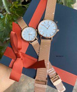 Đồng hồ Daniel Wellington cặp giá rẻ