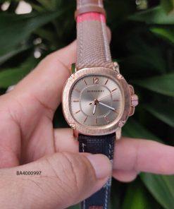 Đồng hồ nữ Burberry dây da cao cấp giá rẻ