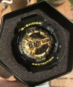 Đồng Hồ Nam G-shock GA-110GB-1A vàng giá rẻ fullbox