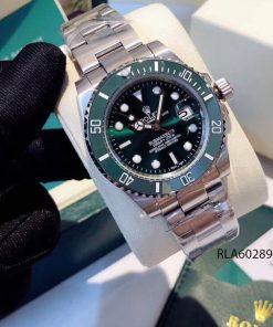 Đồng hồ rolex nam dây kim loại viền xanh dương giá rẻ