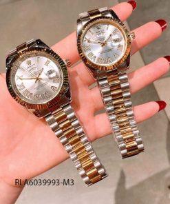 Đồng hồ rolex nam viền đá dây đúc giá rẻ