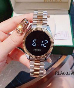 đồng hồ rolex nữ cảm ứng dây demi giá rẻ