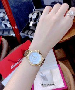 Đồng hồ đeo tay nữ Salvatore Ferragamo Fahion máy thụy sĩ