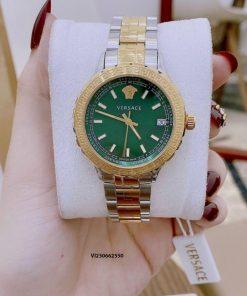 Đồng hồ Versace Hellenyium nữ dây kim loại cao cấp