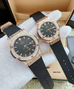 Đồng hồ hublot cặp Genever nam nữ giá rẻ tại tphcm