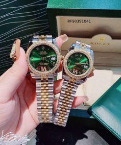 Đồng hồ Rolex Couple Đính Đá Cao Cấp