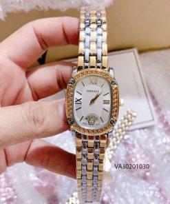 Đồng hồ Versace nữ dây demi mặt ovan giá rẻ