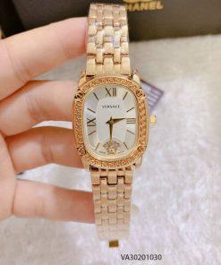 Đồng hồ Versace nữ mặt trắng ovan giá rẻ