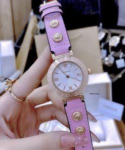 Đồng hồ Versace Tribute Leather dây da giá rẻ