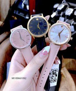 Đồng hồ Movado Bold nữ dây da cao cấp