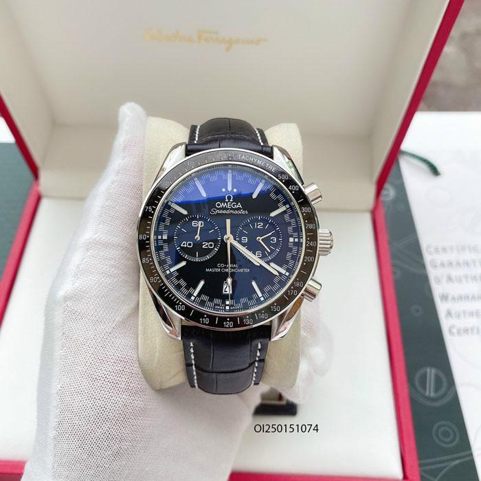 Đồng hồ Omega Speed Master Nam dây da cao cấp