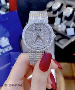 Đồng hồ Nữ Piaget Full Diamon PA.74 kim cương nhân tạo