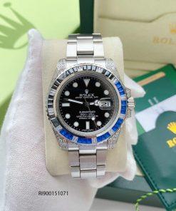 Đồng hồ Rolex Oyster Perpetual Date Máy cơ cao cấp dây bạc