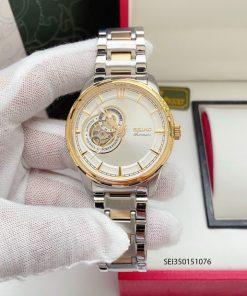 Đồng hồ Seiko nam dây kim loại Demi
