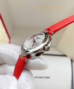 Đồng hồ salvatore ferragamo Gancini nữ dây da