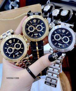 Đồng hồ Versace V-Race Montre dây kim loại cao cấp