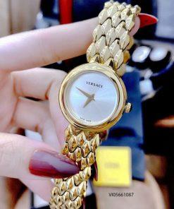 Đồng hồ Versace V-FLARE dây kim loại cao cấp