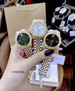 đồng hồ versace nữ dây kim loại cao cấp