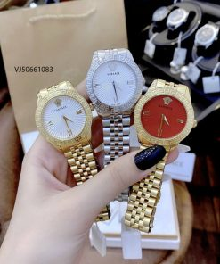 Đồng hồ Versace Greca Signature dây kim loại cao cấp
