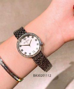 Đồng hồ Bulova nữ viền đá giá rẻ
