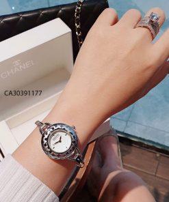 Đồng hồ nữ Coach Còng mặt trơn New